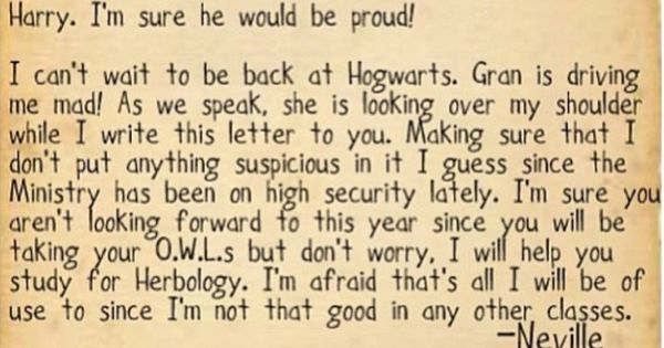 letter to grandma neville and his gran write a letter to harry potter 12996 | 24c5cfda89a057a82cee52ff06c2b637