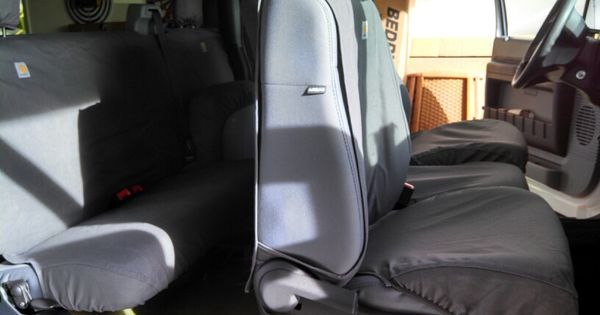 Seat Covers For Trucks >> Seat covers Carhartt gravel | My New 2012 Ford F-250 Super Duty Scorpion 6.7 Turbo Diesel 4X4 ...