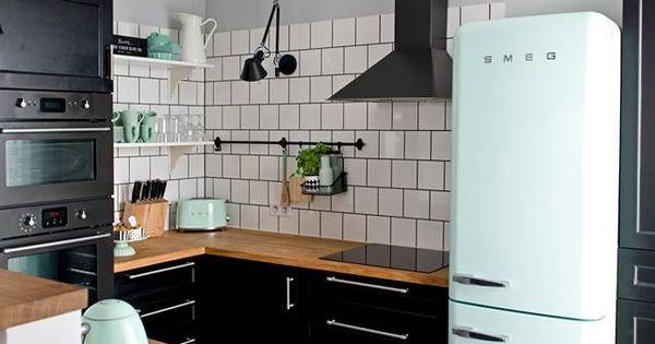 ... Design / nowoczesna STODOŁA  Pinterest - Retro keukens, Ontwerp en