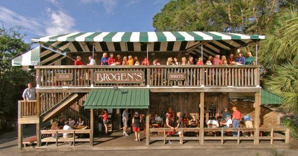 Brogens South Restaurant Pier Village St Simons Island