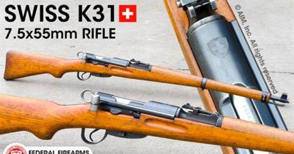 Swiss K31 7 5x55 Rifle Package 289 95 Gun Collecting