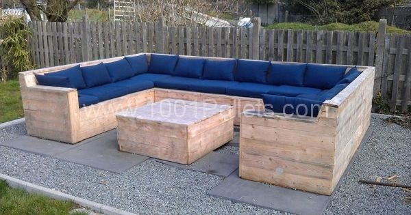 gardenset 600x338 U garden set made with Pallets! in pallet garden pallet