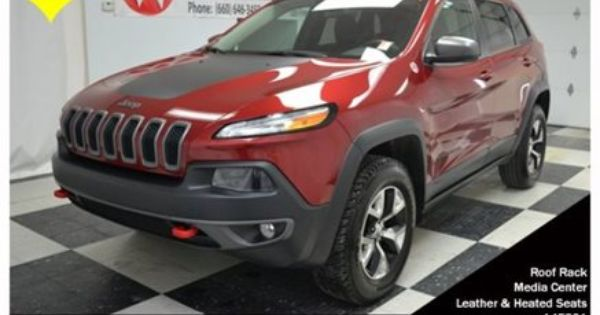 Are You Among The Restless Many The 2014 Jeep Cherokee Trailhawk Delivers Superior Perf Jeep Cherokee Jeep Cherokee Trailhawk 2014 Jeep Cherokee Trailhawk