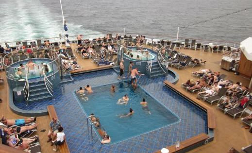 Adults Only Swimming Pool - Carnival Splendor | Cruise ...