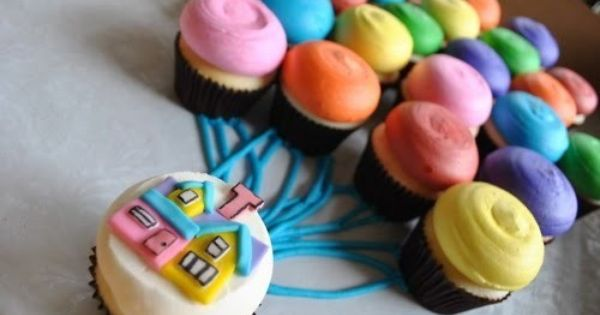 CUTE IDEA! UP cupcakes