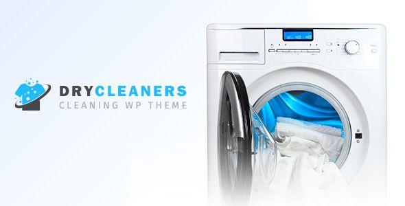 Dry Cleaning Laundry Washing Ironing Theme By Designthemes