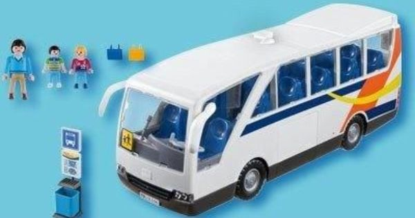 Playmobil 5106 car scolaire playmobil and miniatures for Piscine playmobil