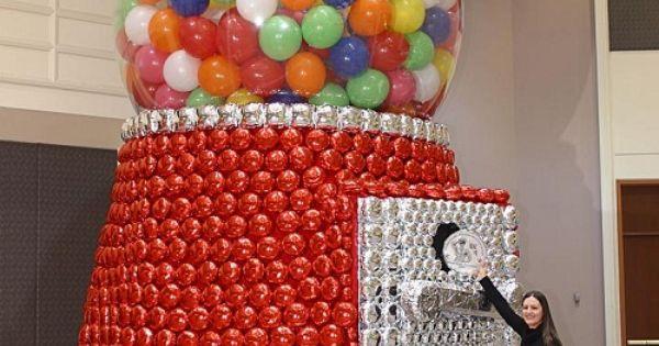 Balloons balloon decor pinterest moedas smosh e for Balloon decoration machine