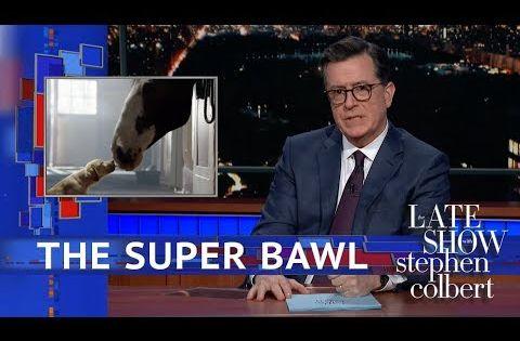 The Most Emotionally Manipulative Super Bowl Ad Ever Youtube Stephen Colbert Racist People Elizabeth Warren