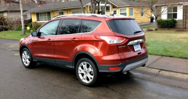Check Out The Burnt Orange Exterior Paint Of The 2014 Ford