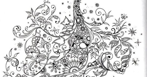Secret Garden Book Coloring