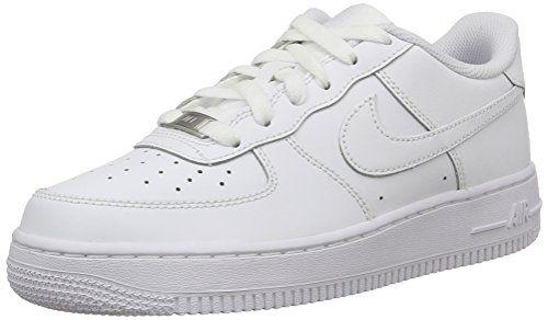 Nike Kids Air Force 1 Gs White White White Basketball S Https Www Amazon Com Dp B002chxid0 Ref White Nike Shoes White Basketball Shoes Girls Shoes Tween