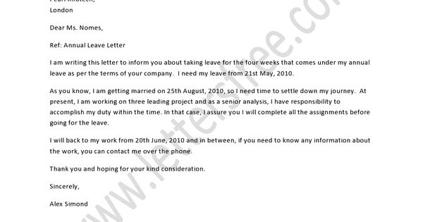 letter analysis a leave permission letter is written to get leave from an 15106 | 24e4095e90c317b6da2bc86e3a155905