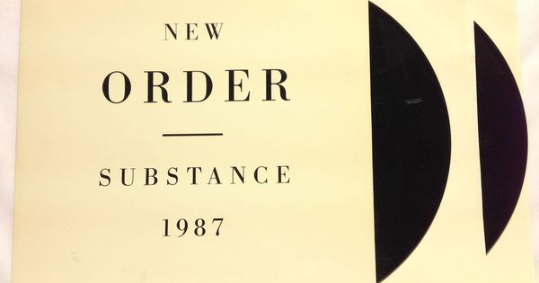 New Order Substance 1987 Factory Fact 200 Embossed 12 Quot 2x
