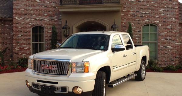 Gmc Truck Parts >> 2013 Pearl White Sierra Denali | Automoblies | Pinterest | Sierra denali, Dream machine and Cars