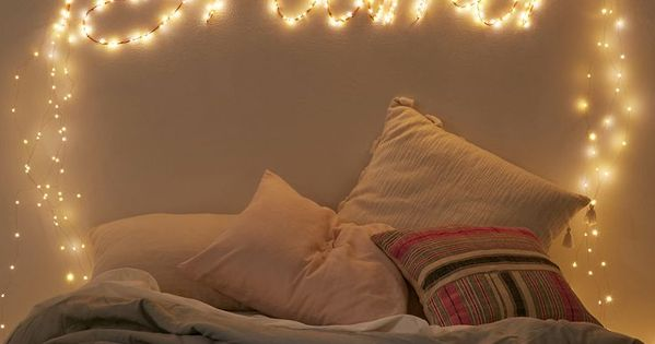 Extra-Long Firefly String Lights Room