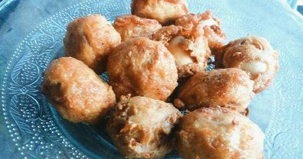 Resep Bola Tahu Isi Telur Puyuh Oleh Hasna Amany Resep Resep Makanan Resep Cemilan
