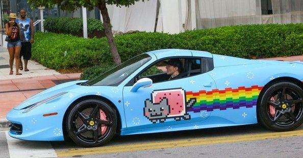 Deadmau5 Photostream Nyan Cat Ferrari Cats