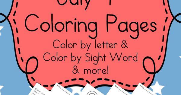 memorial day color sheets