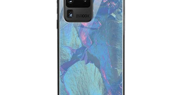 Dailyobjects Purple Iris Gradient Holographic Glass Case Cover For Samsung Galaxy S20 Ultra Buy Samsung Galaxy Samsung Galaxy