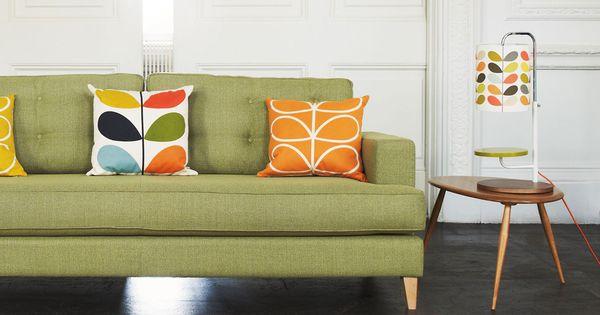 Orla Kiely Multi Stem Table Lamp Wallpaper Fabric