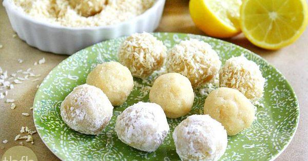 Lemon Meltaway Balls (Raw, Vegan, Gluten-Free, Dairy-Free, Egg-Free ...