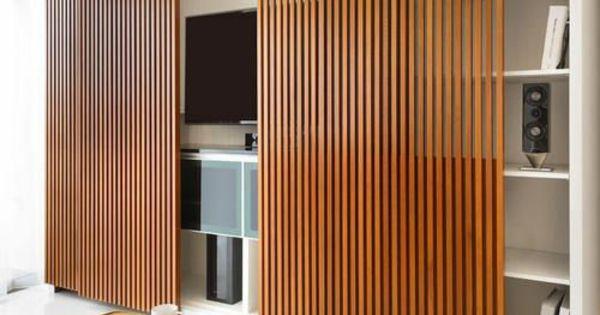 tv schrankwand trennwand raumteiler holz wohnzimmer pinterest raumteiler holz schrankwand. Black Bedroom Furniture Sets. Home Design Ideas
