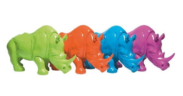 Spardose pop rhino by kare design kare karedesign for Kare design tischuhr