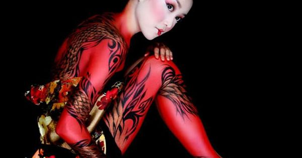 20 Awesome Funny And Creative Body Painting Pics
