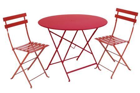 Fermob French Bistro Furniture Bistrotisch Klapptisch Rund Tisch Und Stuhle