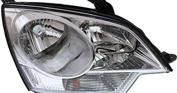 Evanfischer Eva13572018260 New Direct Fit Headlight Head Lamp For Vue 0810 Captiva Sport 1214 Rh Composite Assembly Captiva Sport Halogen Headlights Headlights