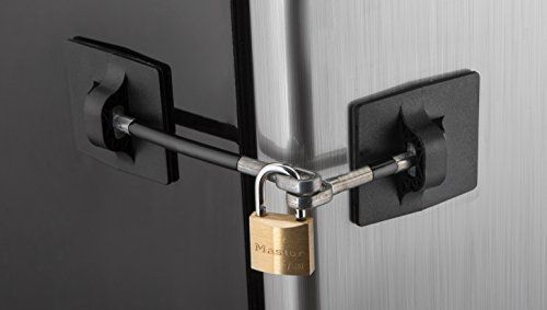 Computer Security Products Refrigerator Door Lock With Pa Https Www Amazon Com Dp B00722phso Ref Cm Sw R Pi Dp X Door Lock Security Fridge Lock Door Locks