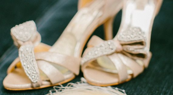 Badgley Mischka shoes | photo by http://emilydelamaterphotography.com/ | http://www.100layercake.com/shop/browse/21 | See more about Badgley Mischka, Wedding Shoes and Shoes.