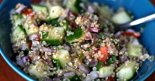 Quinoa salad, Quinoa and Spicy on Pinterest