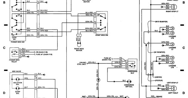 Automotive Wiring Diagram  Isuzu Wiring Diagram For Isuzu Npr  Isuzu Wiring Diagram