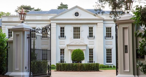 Neo Palladian Mansion 16 750 000 Mansions Facade House Neoclassical Architecture
