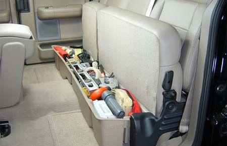 2005 Ford F150 Super Crew Cab Truck Underseat Storage From Du Ha Ford F150 F150 Truck Storage