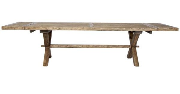 FARMHOUSE Recycled Timber Extension Dining Table 24m to  : 251b5d1bd8e6e8938fc9164fccc1fa86 from www.pinterest.com size 600 x 315 jpeg 10kB