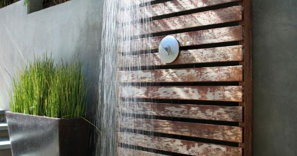 outdoor dusche sichtschutz im garten gartenideen outdoor spaces pinterest garten selber. Black Bedroom Furniture Sets. Home Design Ideas