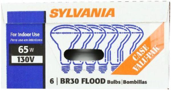 Sylvania 15172 65 Watt 130 Volt Br30 Indoor Flood Light 6 Pack Sylvania Http Www Amazon Com Dp B000kkhu76 Ref Cm Sw R Pi Dp 5 Thu Flood Lights Sylvania Bulb