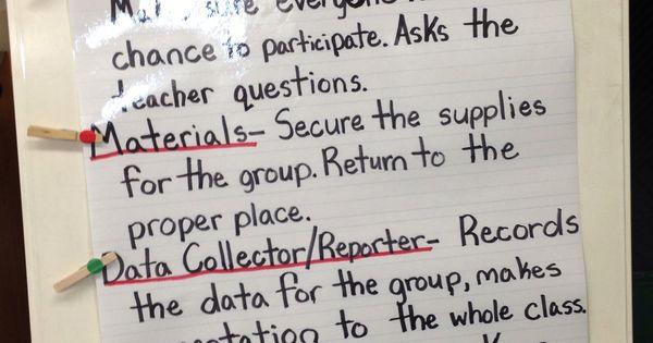 Classroom procedures classroom organization classroom management - Science Cooperative Group Roles Dr Seuss Stuff