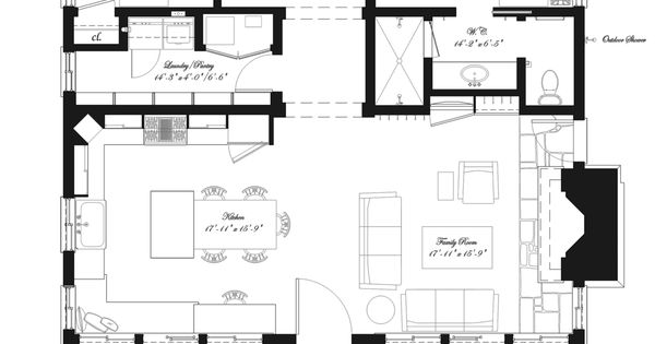 Southern style house plan 2 beds 2 baths 1394 sq ft plan for Simple southern house plans