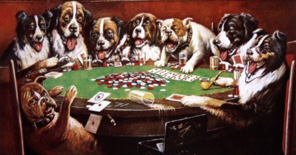 Com Dogs Playing Poker Poker