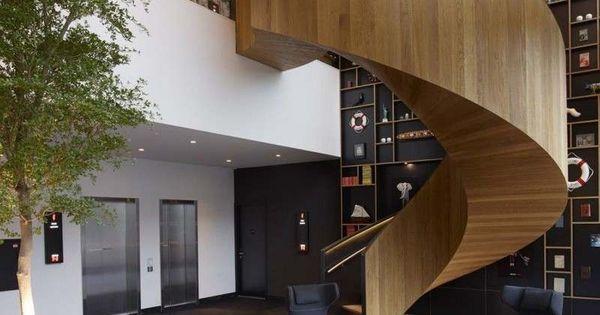Escaliers En Bois Int Rieur Et Ext Rieur Id Es Sur Les Designs Design Et Interieur
