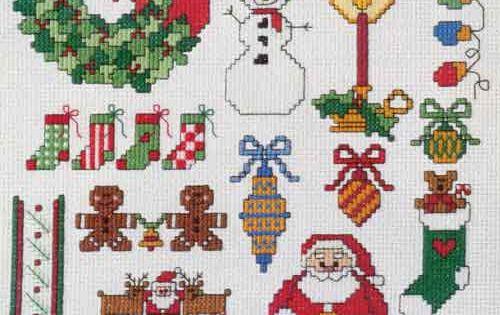 knitting christmas tree pattern