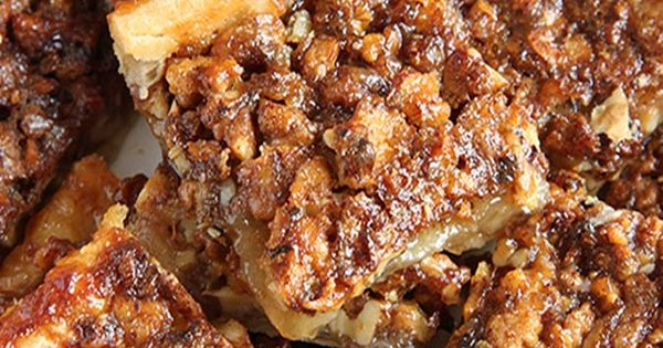 Easy Pecan Pie Bars | Pecan Pies, Pecans and Crescent Roll Dough