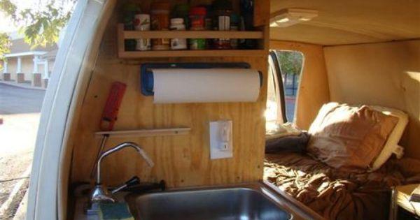 cheap rv van conversion my van down by the river pinterest cheap rv and rv. Black Bedroom Furniture Sets. Home Design Ideas