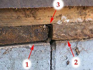 Gaps In House Where Framing Meets Foundation Fiber Cement Siding Cement Siding Masonite Siding