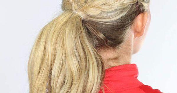 Une tresse africaine color e les coiffures pour aller faire du sport coiffures - Coiffure pour faire du sport ...