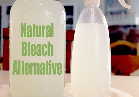 A Natural Bleach Alternative 12 cups water 1/4 cup lemon juice 1